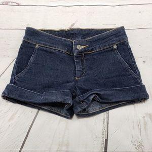 Carmar Shorts Size 23 Car-Mar Womens Blue Denim